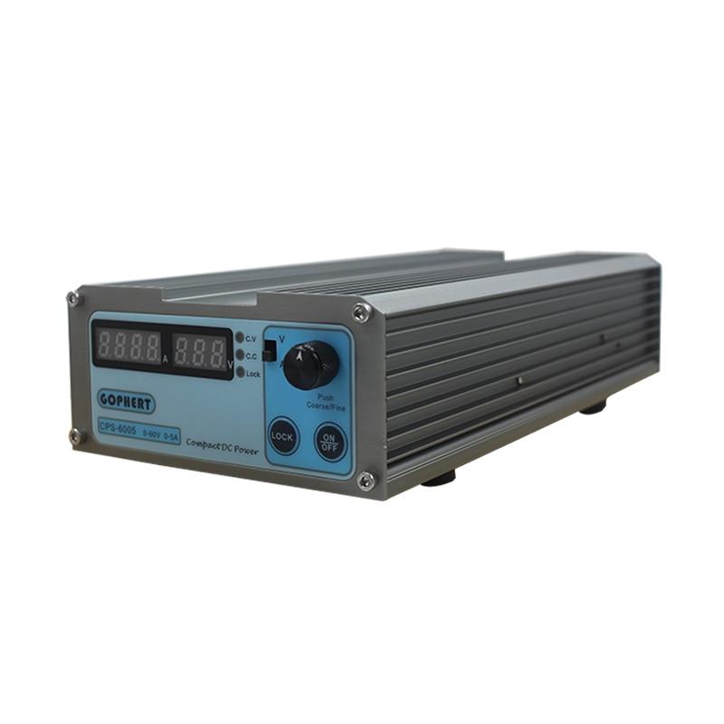 Petit CPS-6005 Volum 60 V 5A 110 V-220 V compact réglable à découpage numérique réglable alimentation à découpage DC