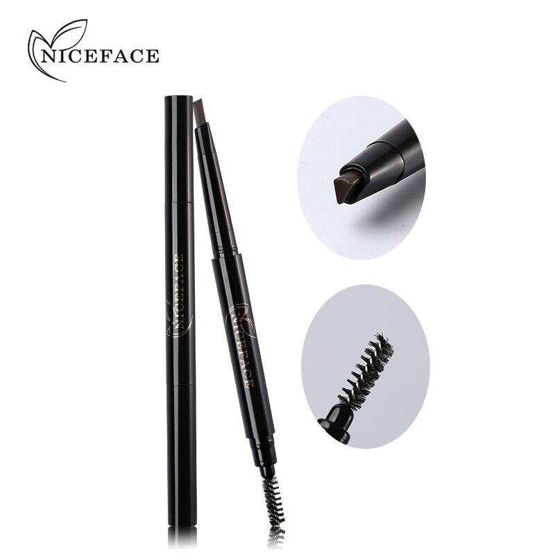 NICEFACE Pro Eyebrow Pencil Wodoodporna długotrwała poprawa brwi - Makijaż - Zdjęcie 4
