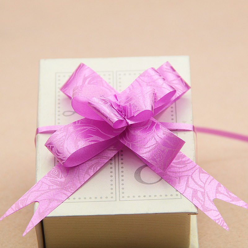 US $0 47 |FUNNYBUNNY Pull Bows with Ribbon Strings to Wrap the Box Gift  Pull Bows for Presents, Weddings, Birthdays, Baby Showers-in Party DIY