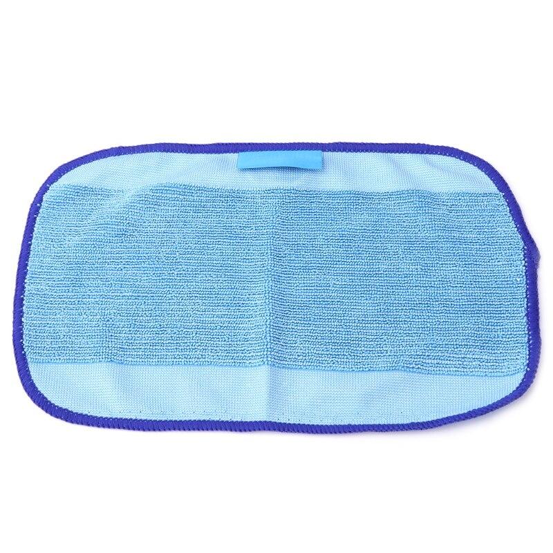Replacement Microfiber Wet Mopping Cloths For iRobot Braava 380t 320 Mint 4200 new 3pcs deep clean blue microfiber replacement washable wet mopping pads for braava jet 240 cleaner