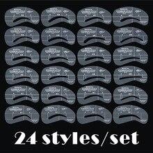 24pcs/set Grooming Stencil Kit