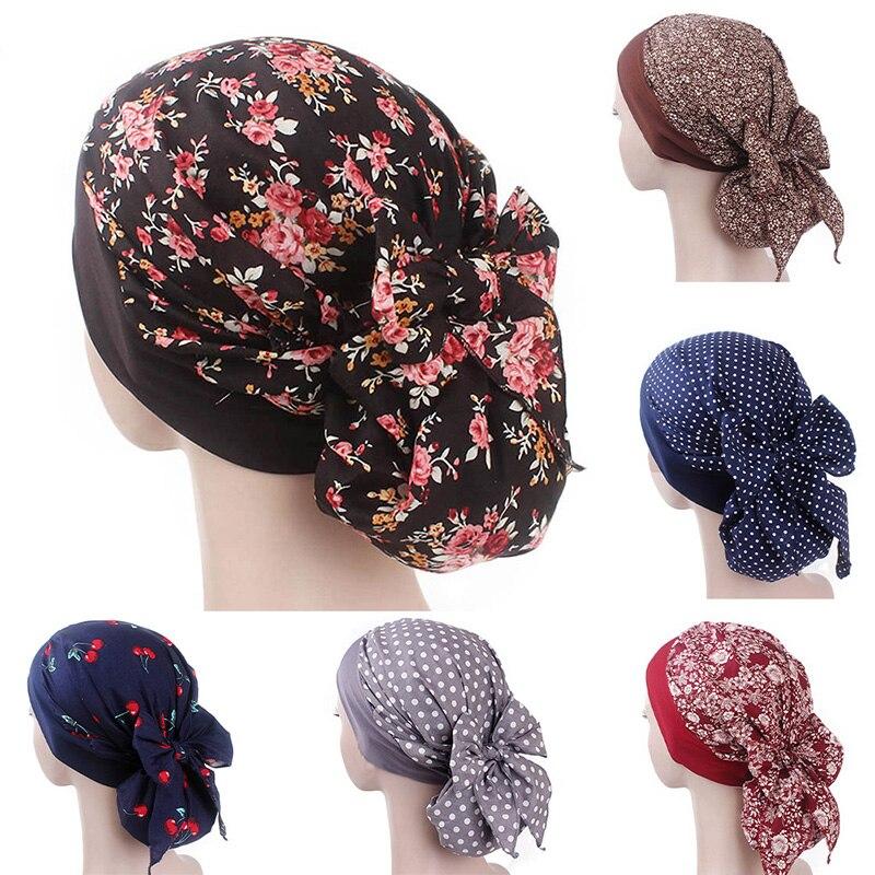 Turan Cap Pastoral Style Hijab Muslim Islamic Scarf Women Hijab Hat Muslim Scarf Elastic Cloth Head Hat Ladies Hair Accessories