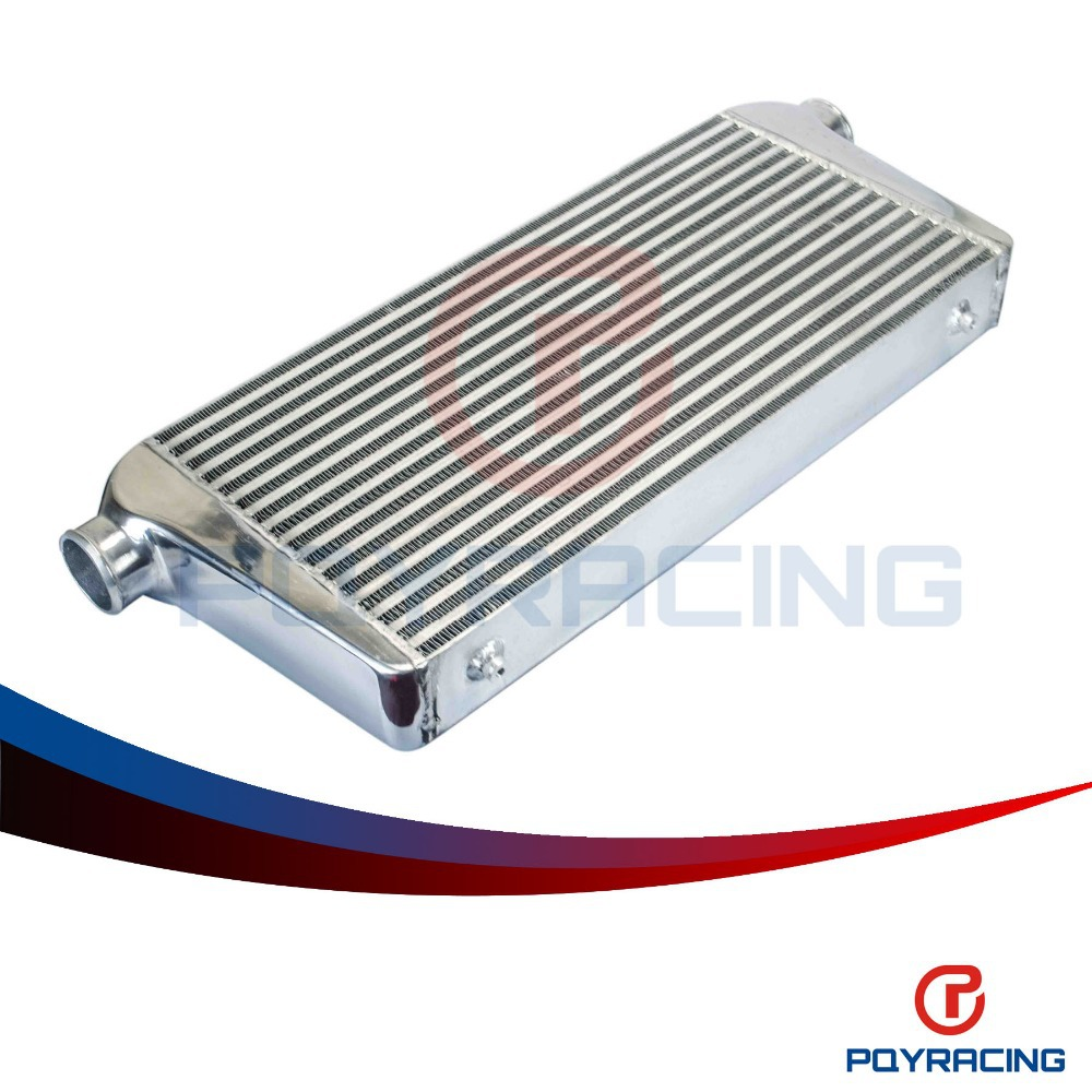 PQY RACING - Universal Front Mount intercooler OD=3.0 600*300*76mm Turbo Intercooler bar&plate PQY-IN816-30 epman universal aluminum water to air turbo intercooler front mount 250 x 220 x 115mm inlet outlet 3 5 ep sl5046d