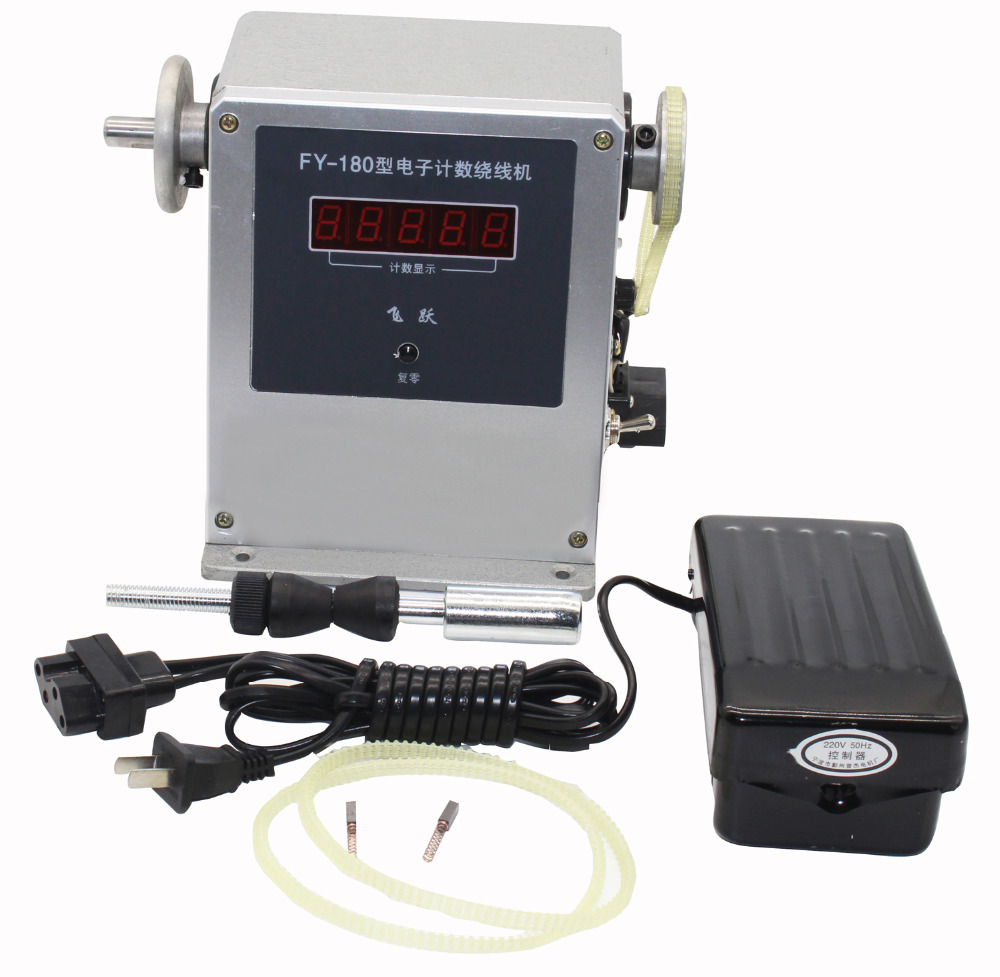 Pro Computer Controlled Coil Transformer Winder Winding Machine 0.03-0.35mm 220V