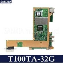 Kefu T100TA материнская плата для ноутбука ASUS T100T T100TA T100TAS T100TAM Тесты Оригинал материнская плата 32G