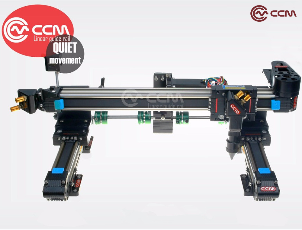 CNC Engraving Machine C02 Linear Guide Rails 6040 Working Area