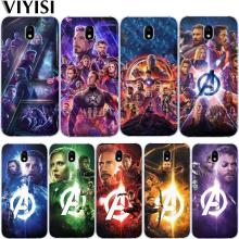 Marvel Avengers Iron Man Captain America Superhero Case For Samsung Galaxy J3 J4 J5 J6 J7 J8 Plus 2016 2017 2018 Etui Coque for samsung galaxy j3 j5 j7 j8 j6 j4 plus 2017 2018 funda coque capa luxury cute marvel hero avengers etui phone case spider man