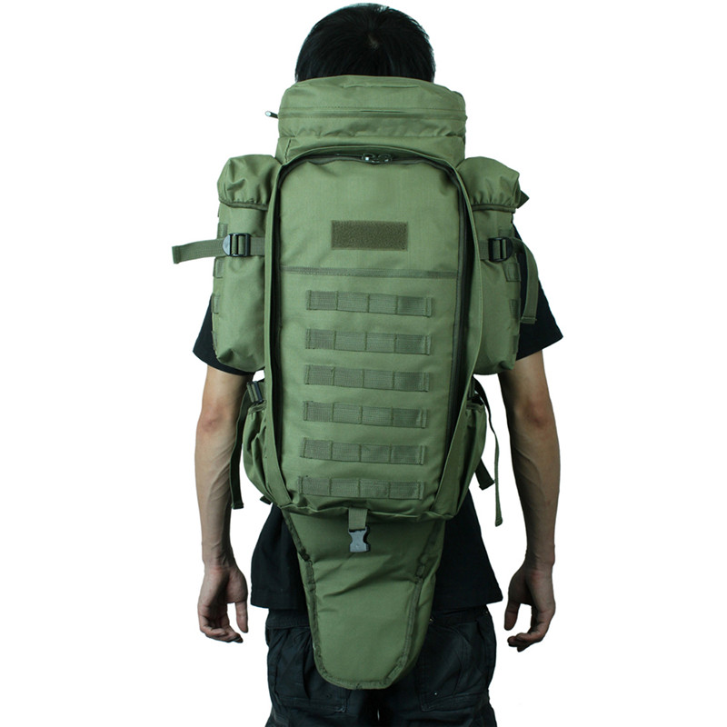 Hunting Large Gun Rifle Backpack Molle Padded Dual Gun Storage Bag Military Survival Trekking Bag With Support Waist Belt styx масло эфирное цитронелла 10 мл 514