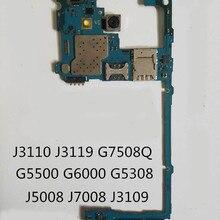 Circuit-Board-Plate Samsung for Galaxy/J3109/Motherboard/.. Unlocked Full-Working 100%Original
