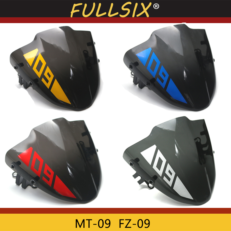 Motorcycle accessories small windshield for Yamaha MT 09 MT 09 FZ 09 mt09 fz09 2017 2018