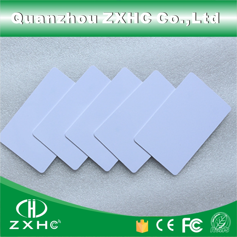 (10pcs/lot) T5577 Writable Reusable White Copy Cards For ID EM4100 Tk4100 RFID 125 Khz PVC Material Waterproof