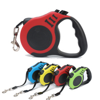 3M\/5M Automatic Dog Leashes Nylon Retractable Dog Leash Extending Puppy Walking Leads For Small Medium Dogs Pet Supplies