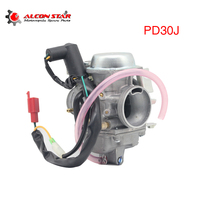 Alconstar Motorcycle PD30J Carburetor For GY6 CF250 CH250 CN250 SS250 GO KART BUGGY PARTS SCOOTER ATV 250cc 300cc