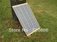 10W Solar Cell Panel 10Watt 12 Volt Garden Fountain Pond Battery Charger Diode