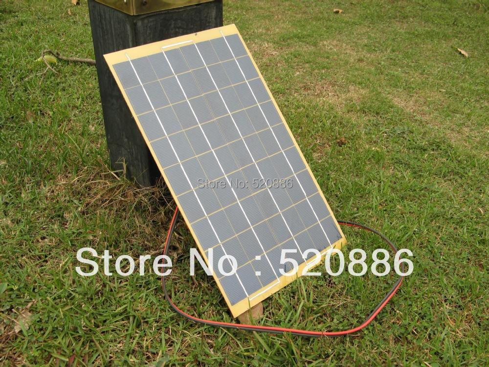 10W Solar Cell solar panel 10Watt 12 Volt Garden Fountain pond Battery Charger Diode