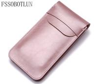 FSSOBOTLUN 6 0 Inch Double Pocket Bag Waist Belt Microfiber Leather Case For Sony Xperia XA1