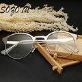 Retro Gafas de Montura de gafas Marco de Anteojos Mujeres Hombres Empollón Ordenador Decorativo Para mujeres Hombres Lente Transparente YQ207
