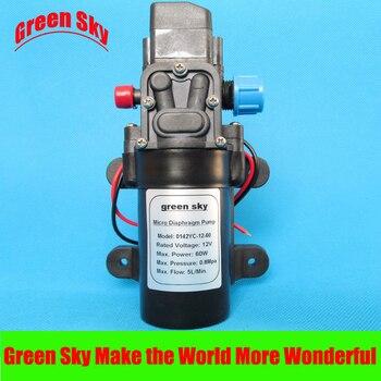 5L/Min 12V DC 60W automatic pressure switch high pressure electric mini diaphragm pump self-priming booster pumnp 5 5l min 24v dc 80w high pressure self priming sprayer pump electric diaphragm pump