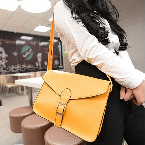 Womens handbag messenger bag preppy style vintage envelope bag shoulder bag high quality briefcase