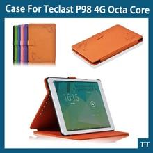"""Pu funda de piel para Teclast P98 4G octa core 9.7 """"tablet Calidad estupenda para Teclast X98 pro case + Protector de Pantalla Gratuito"""