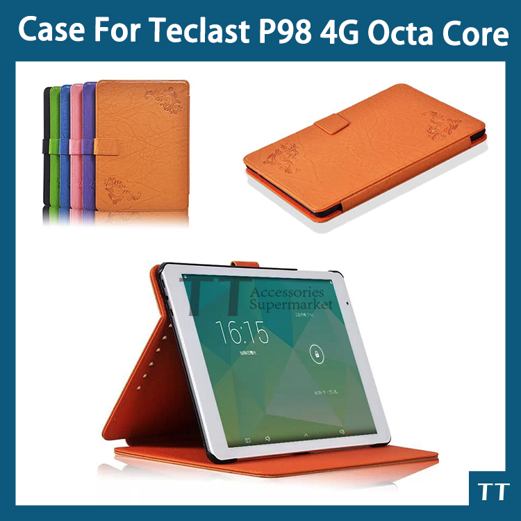 PU Leather Case cover for Teclast P98 4G octa core 9.7