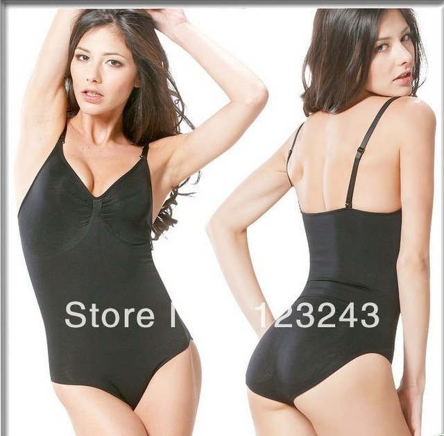 f12130c2b35af Best Selling Women s Seamless Firm Control Body Shaper Slimming Body  Briefer Shapewear Black