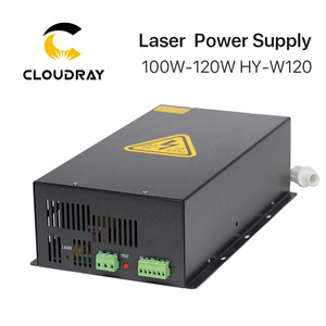 Image 2 - Cloudray fuente de alimentación láser CO2, 100 120W, para máquina cortadora de grabado láser CO2, HY W120 serie T / W