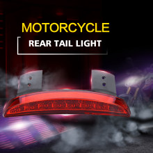 Led Stop Signal Motorcycle Lamp Moto Rear Tail Light For Harley Davidsion Sportster 1200 Roadster Iron 883 Nightster XL SCOOTER(China)