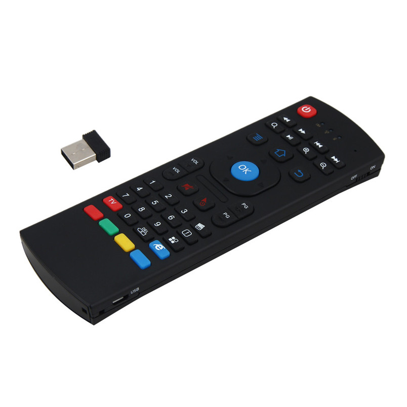 Reliable gaming mouse Newest 2.4G Wireless Remote Control Keyboard Air Mouse For XBMC An ...