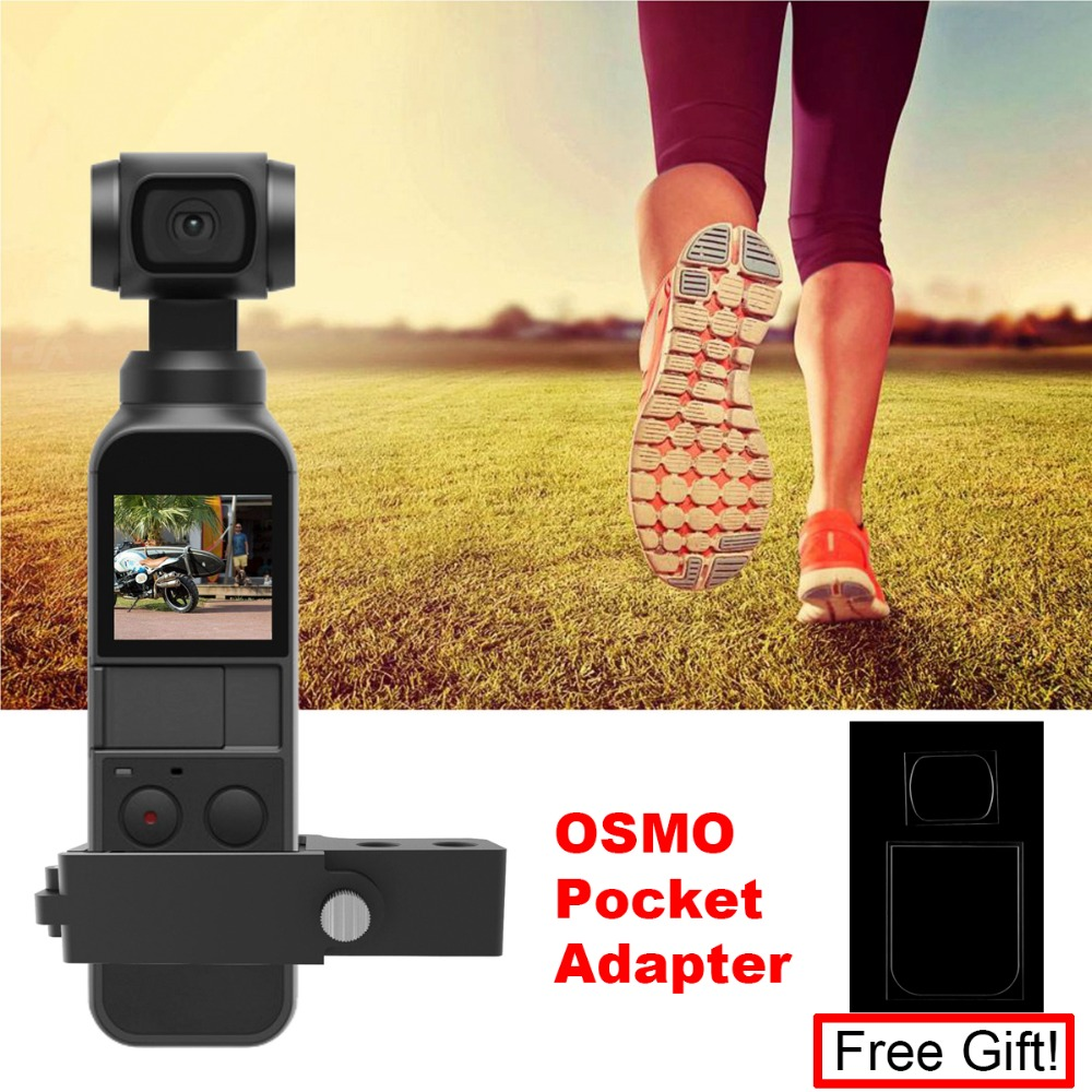 Extension Adapter for DJI Osmo Pocket Handheld Gimbal Camera Stabilizer Expansion Kits Mount Holder Spare Parts Accessory