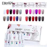 Elite99 8 мл УФ-гель для ногтей отмачиваемый эмалированный Гель-лак в подарочной коробке 6 шт./лот Полупостоянный дизайн ногтей гель для ногтей