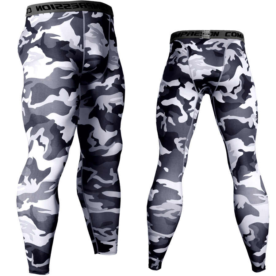 0816524f5c5e9 Brand Running Tights Men Sports Leggings Sportswear quick-drying Long  Trousers Winter Fitness Compression Sexy