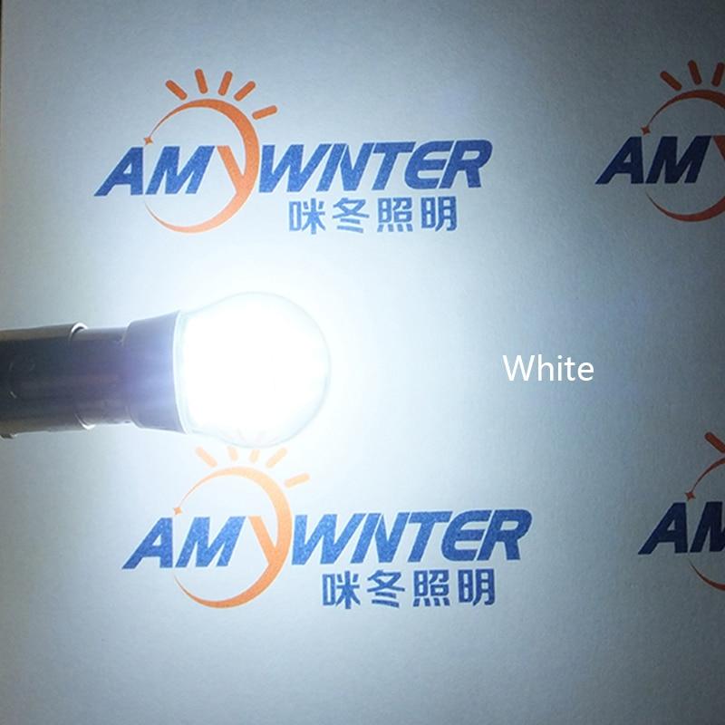 AMYWNTER 12V 1156 rəhbər P21W 1157 P21 / 5W S25 Avtomobil LED - Avtomobil işıqları - Fotoqrafiya 4