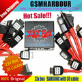 100% Оригинал Z3X Box Edition Unlock & Flash, и Ремонт Samsung Сотовых телефонов С 30 Кабелей + DHL Бесплатная Доставка ВСЕ 5 + обратная связь