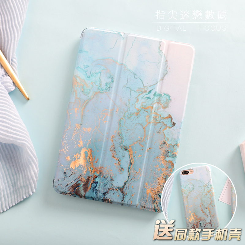 Marble Magnetic Flip Cover For iPad Pro 9.7″ 10.5 12.9 Air Air2 Mini 1 2 3 4 Tablet Case cover for New iPad 9.7 2017 2018 a1893