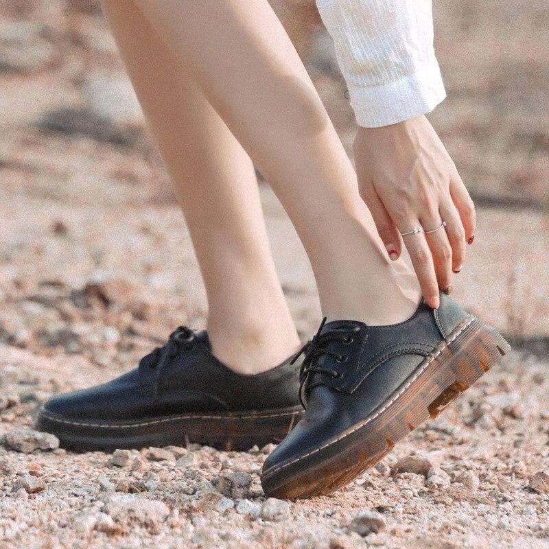 Redondo Planos Del Moda Oxford Retro Mujer Fsj01 La Microfier De 2019 Zapatos Nueva Fsj Coser Casual Vestido Pie Primavera Dedo Baja Chicas Boca w48qPUIax