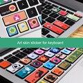 Съемный Этикеты Винила Арт Наклейка Клавиатура Кожи Наклейка для Macbook Air 11 ''13'' Macbook 12 ''Personality Симпатичный Стикер
