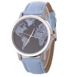 Новый дизайн карта мира часы для мужчин для женщин подарок часы Уникальный Дизайн Мода время кварцевые для мужчин часы платье часы zegarek damski