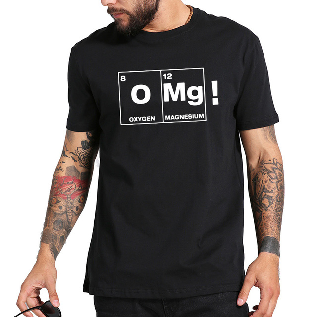 Chemical Element Tshirt Periodic Table Oxygen Magnesium Tee Shirt