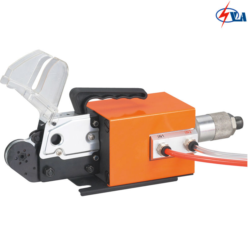AM6-6 0.08-6mm2 cable-end sleeves Self-adjustable Pneumatic terminal crimper self adjustable cable end sleeves ferrules awg 12 6 4 16mm2 crimper piler