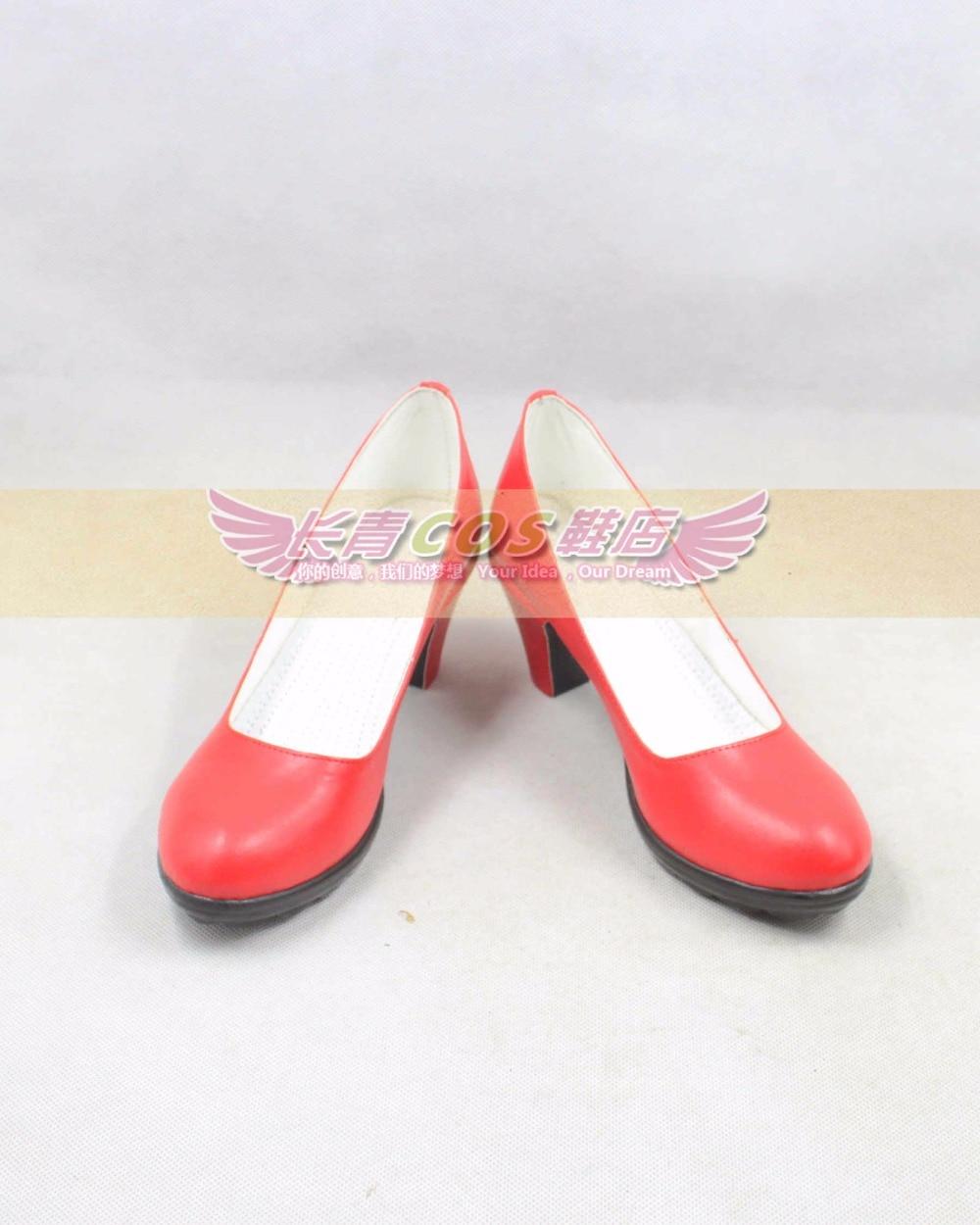 SailorMoon Hino Rei cosplay Shoes Boots Custom Made 9212