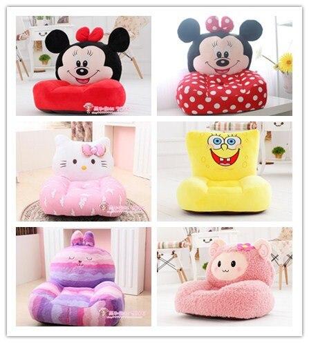 venta caliente de la felpa juguetes silla de beb nios sof nios durmiendo puff lindo de la historieta muebles lounge chair