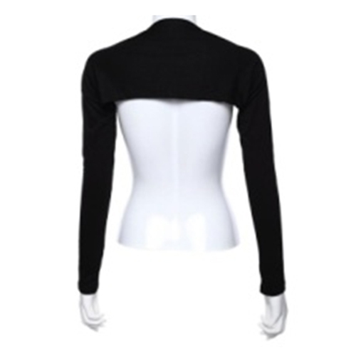 Nieuwe Hayaa Mode Een Stuk Mouwen Arm Cover Bolero Bolero Hijab Moslim Zwarte