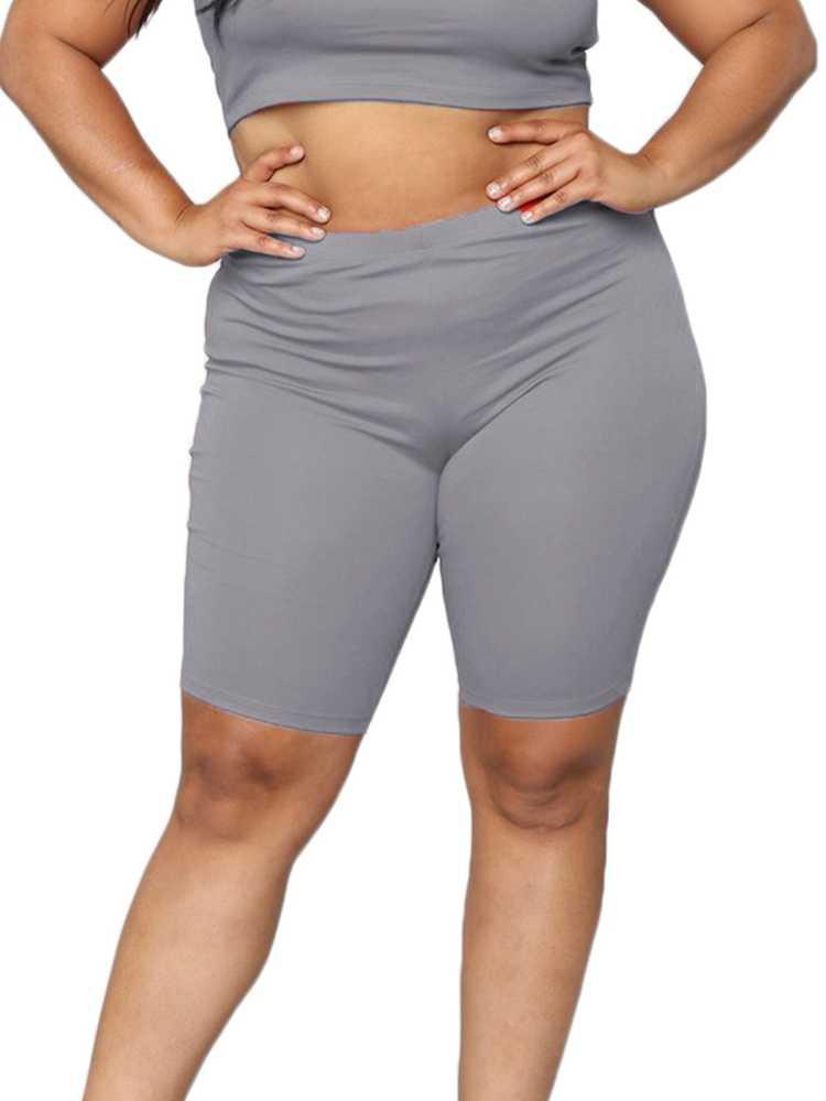 Elastische Booty Hoge Taille Shorts voor vrouwen Zomer Bodycon Yo-ga Biker Sport Sneldrogend Shorts Nieuwe Aankomst korte Mujer