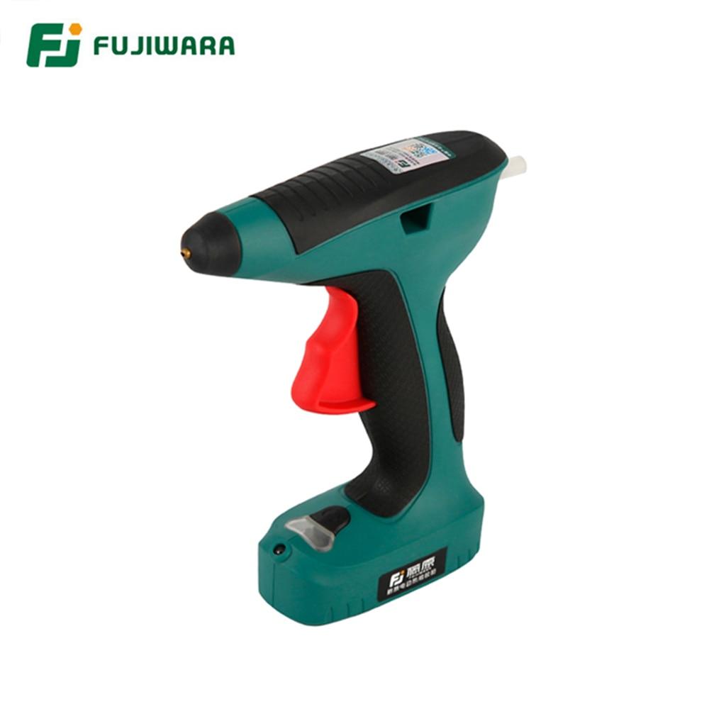 Rechargeable 1500mAh High 6V FUJIWARA Lithium Electric Hot Quality Glue Gun 3 Melt