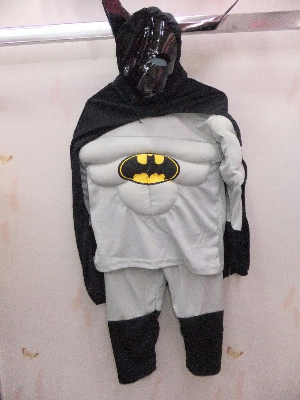 Boz 3-7 il Əyləncə Uşaqları Komik Marvel Batman Muscle Halloween - Karnaval kostyumlar - Fotoqrafiya 5