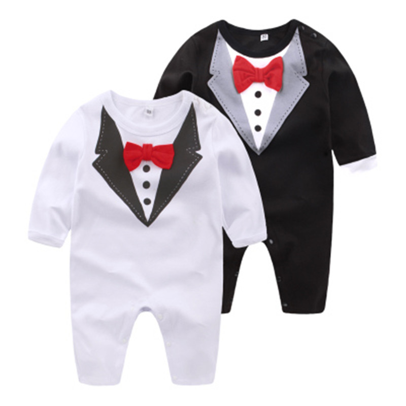 Baby Boy Rompers Cotton Full Prince Party Overalls Spring Autumn Toddler Clothing Set Infant Jumpsuits Newborn Boys Clothes strip baby rompers long sleeve baby boy clothing jumpsuits children autumn clothing set newborn baby clothes cotton baby rompers