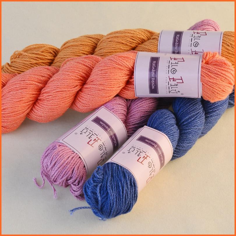 50g ball Filofilu U1489 Cotton Yarn Natural Milk Cotton Baby Yarn  Hand-Knitted Towel Line 27ca8327d30cd