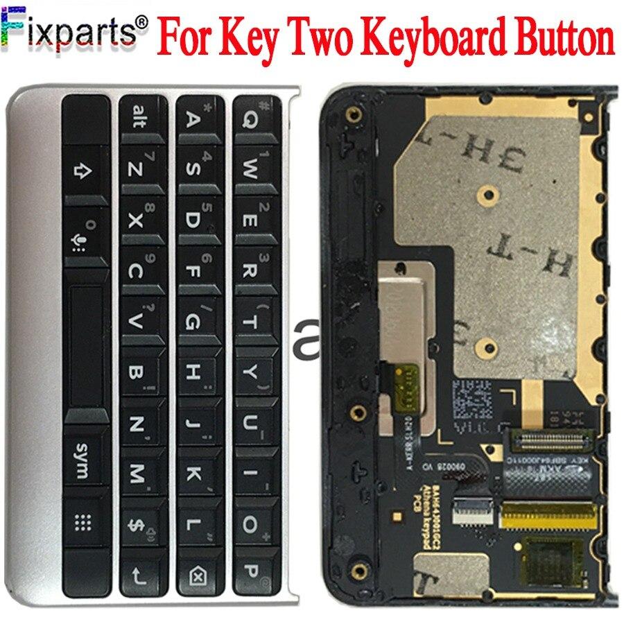 Clavier pour BlackBerry Keytwo Key2 bouton clavier avec câble flexible pour BlackBerry Key 2 pièces de rechange de téléphone