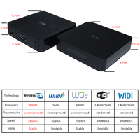 measy w2h 30m HDMI Matrix Extender 1080P 3D HDMI Transmitter Receiver wireless Cable With Power Adapter